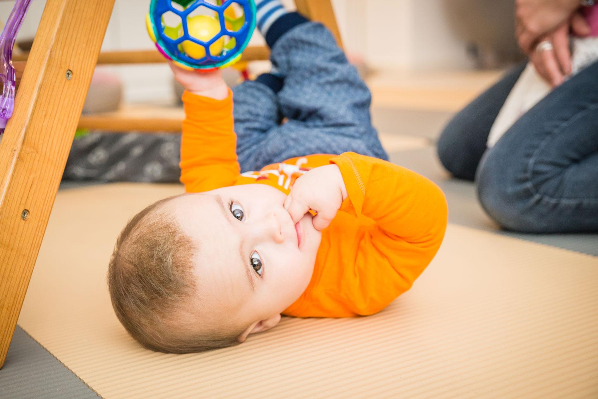 Was bieten wir dir im Babymassage Kurs