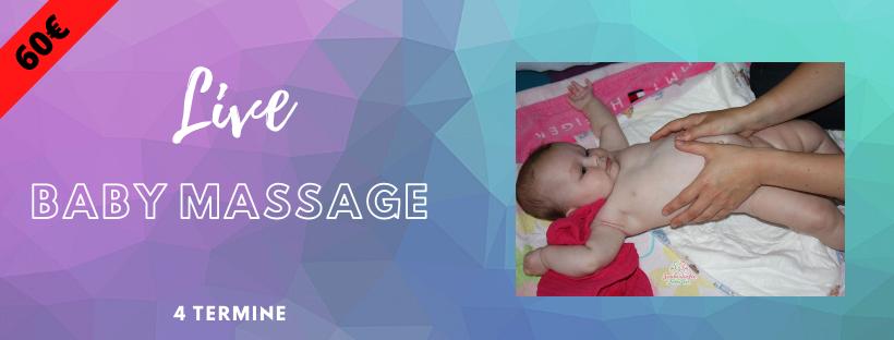 Kurs Babymassage Live Mai 2021